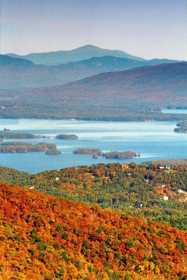 Fall Colors at Gunstock Mountain Lakes Region New Hampshire 1