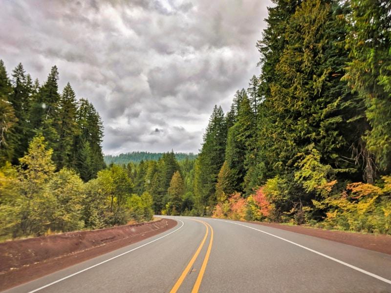 Fall Colors in Santiam MacKenzie Pass Oregon Road Trip 2018 1