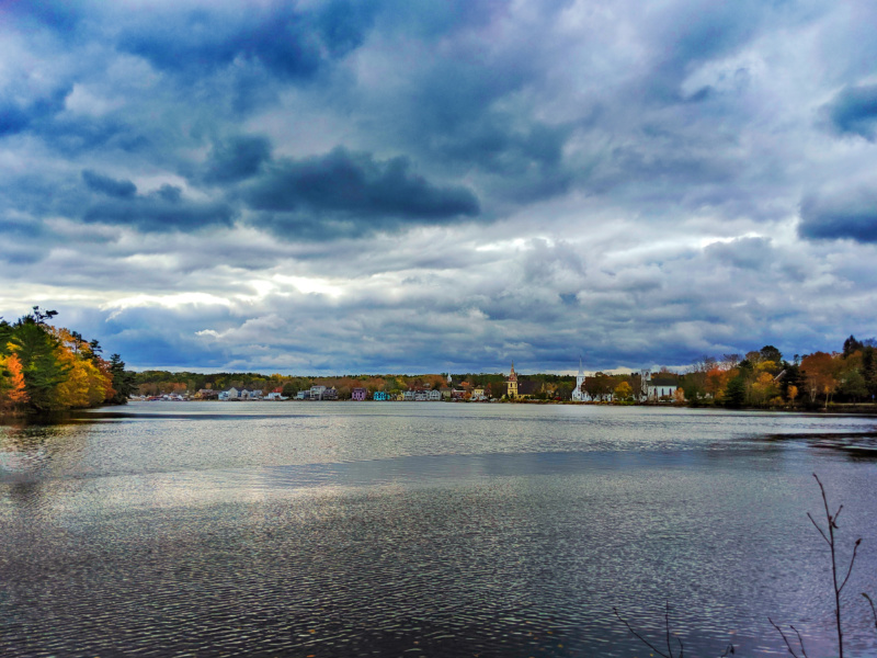 Fall Colours at Mahone Bay South Shore Nova Scotia 1