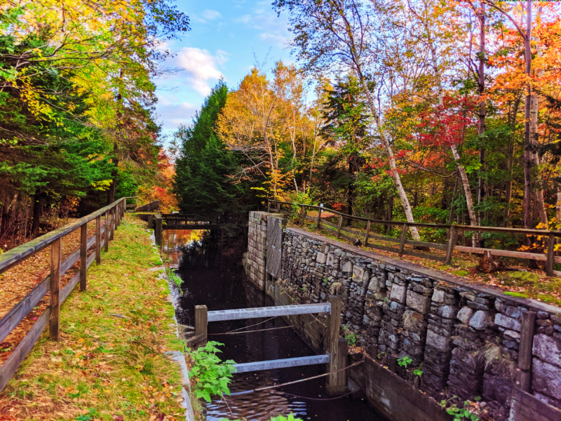 Fall Colours on Shubie Park Canals Dartmouth Halifax Nova Scotia 1