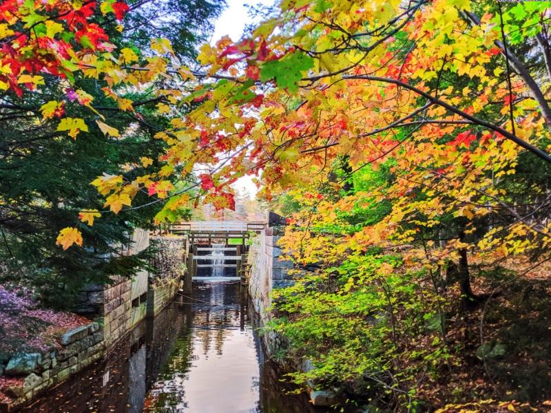 Fall Colours on Shubie Park Canals Dartmouth Halifax Nova Scotia 2