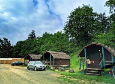 Family cabins at Astoria KOA Campground Warrenton Oregon 3