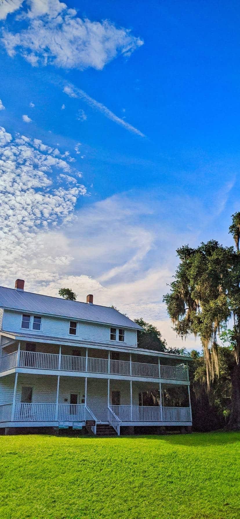 Farmhouse at Blue Spring State Park Florida