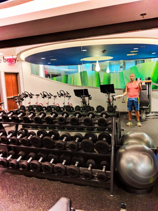 Fitness studio of EVEN Hotels Times Square South New York City 1