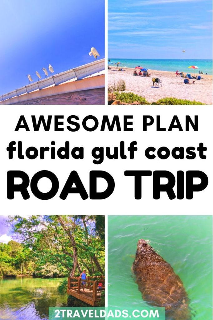 This is the best Florida road trip itinerary for planning a family vacation. The best beaches, fun towns, Florida's freshwater springs and amazing wildlife make this travel plan perfect for anyone with a Florida bucket list. #florida #roadtrip #familytravel
