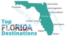 Florida Destinations Map