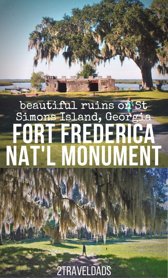 Easily overlooked, Fort Frederica National Monument is a fun collection of ruins and live oaks to add to a Georgia Coast road trip. See where it's located, what to do at Fort Frederica and more ideas for St Simons Island.