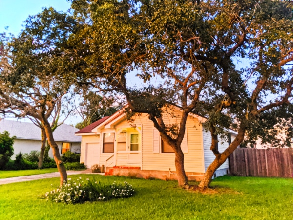 Front of Buccaneer Bungalow Butler Beach Saint Augustine Florida Vacation Rental 2