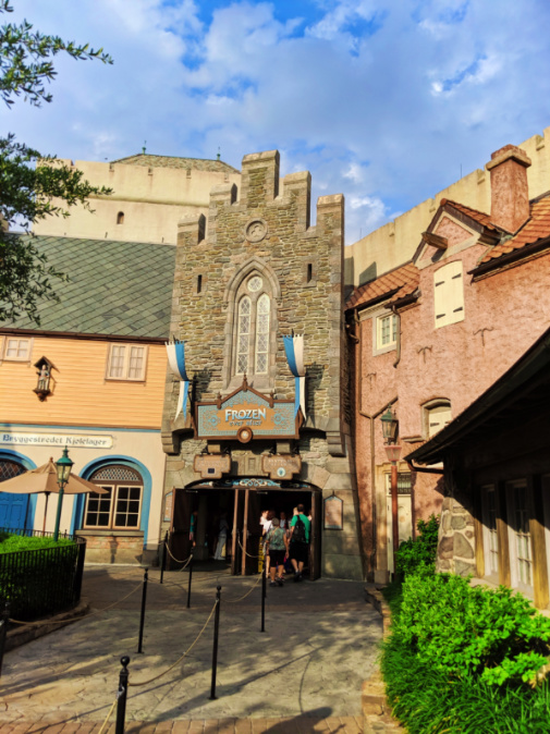 Frozen Ride in Norway Pavilion in Epcot Disney World Florida 1