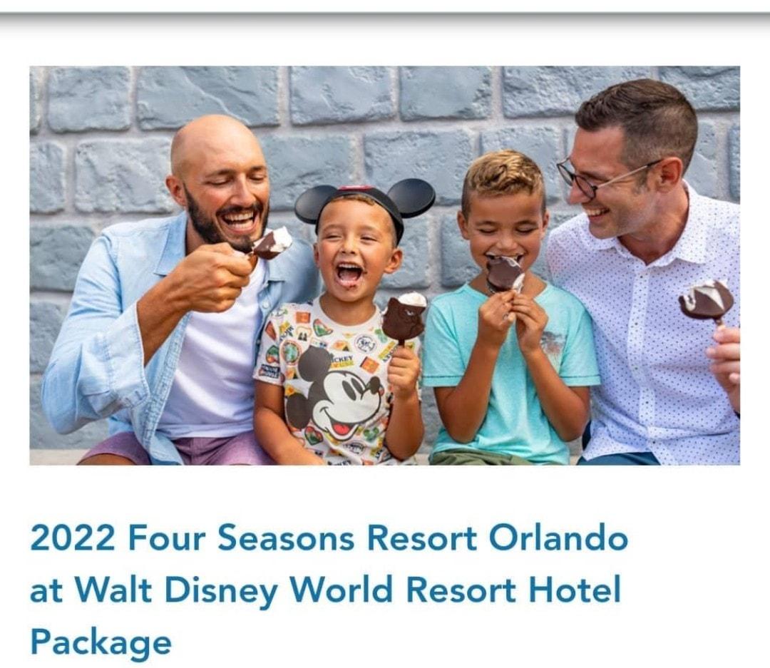 Full Taylor Family Walk Disney World Ad Photo Shoot 1