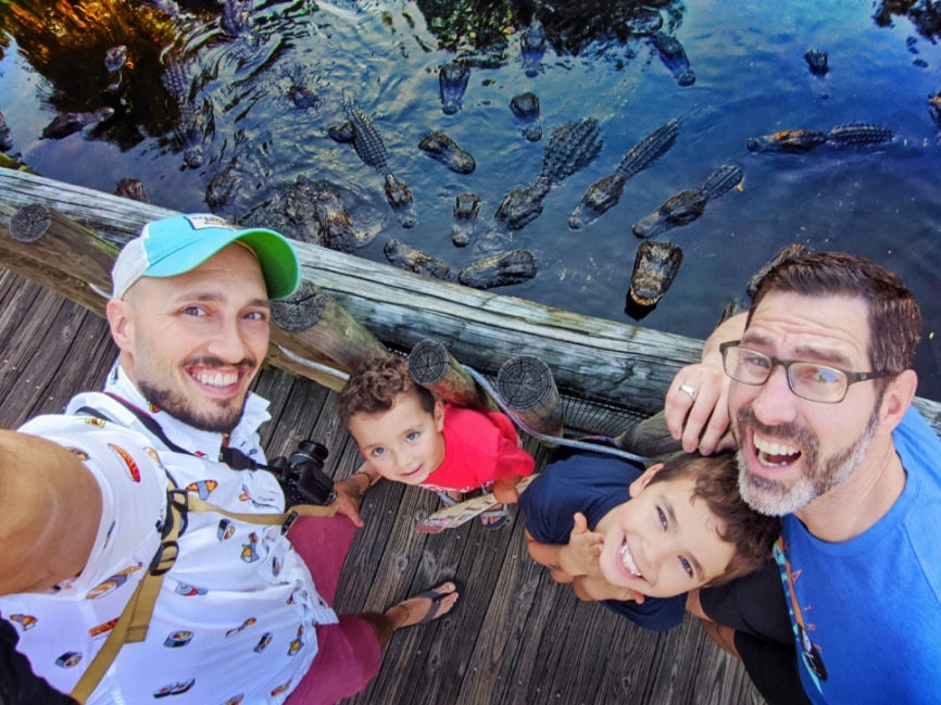 Full Taylor Family at Alligator Farm Saint Augustine Florida 2019 1