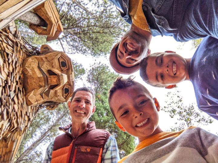 Full Taylor Family at Isak Heartstone Troll Breckenridge Colorado 4