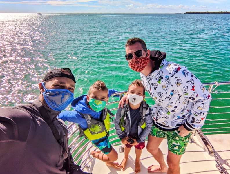 Full Taylor Family with Honest Ecotours The Squid Key West Florida Keys 2020 7