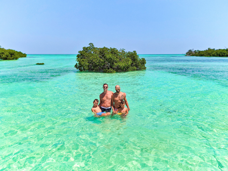 Full Taylor Family with Island to Island Charters Backwaters of Key West Florida Keys 2021 3