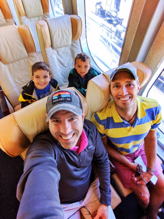 Full Taylor family in Vista Class Cabin on Victoria Clipper Vacations 1