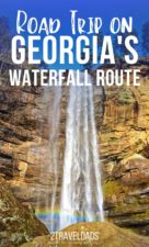 North Georgia is home to many wild and scenic gorges and waterfalls. These can't miss hikes and easy sights are beautiful any time of year. #hiking #waterfalls #Georgia