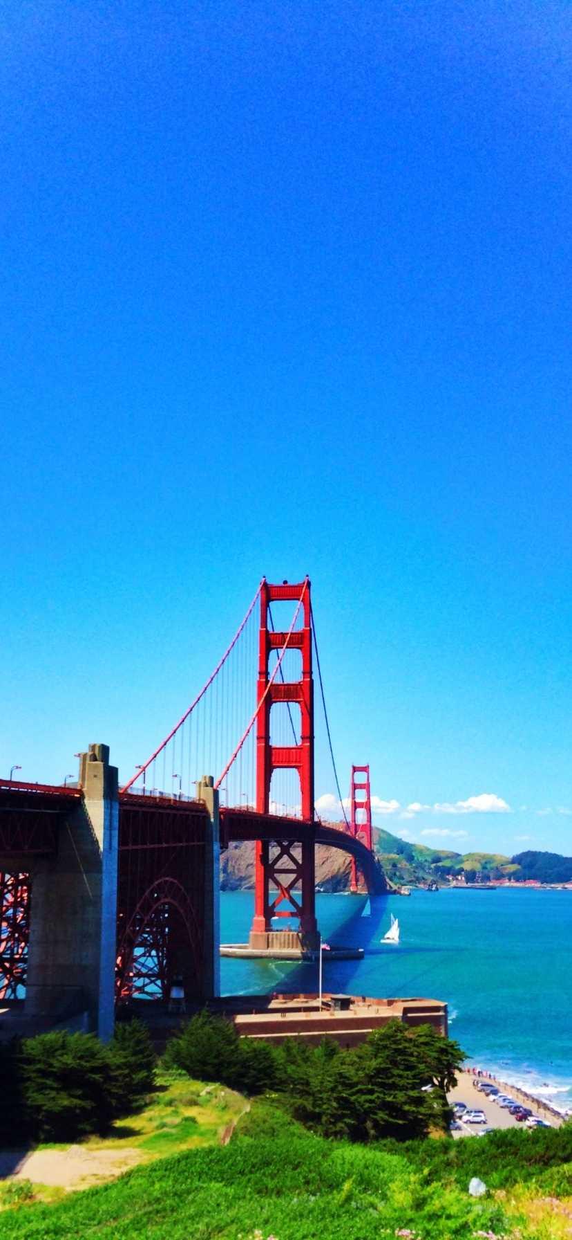 Golden Gate Bridge California Coast Road Trip
