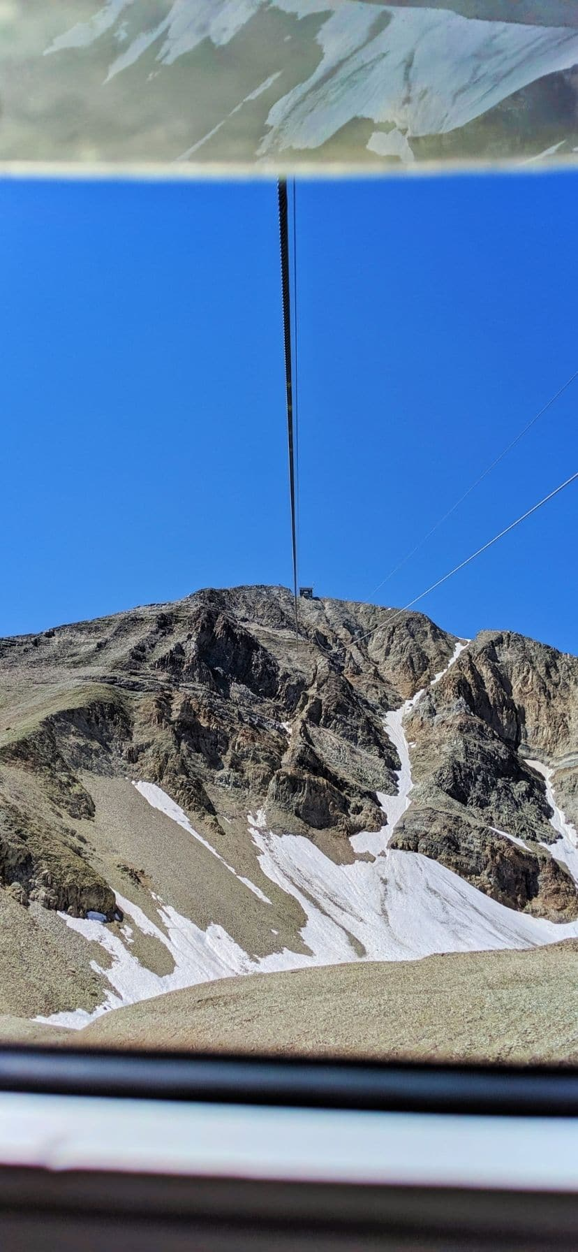 Gondola Cable Car to Top of Lone Mountain Big Sky Resort Montana