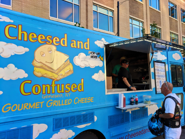 Gourmet Food Trucks downtown Rochester New York 1