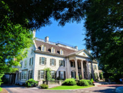 Exterior of Mansion at Eastman Museum Rochester New York 1