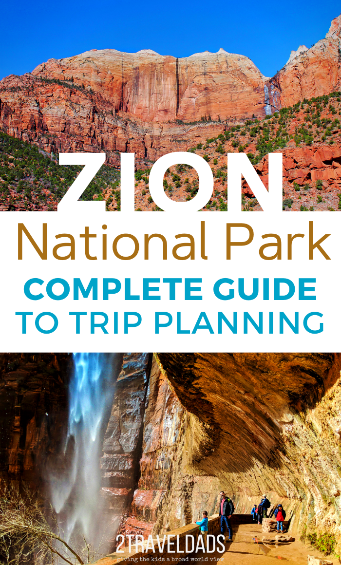 Visiting Zion National Park is a bucket list experience for many, so it's very crowded much of the year. Guide to planning a stress-free, relaxing trip to Zion with kids. #ZionNationalPark #Utah #hiking #nationalpark