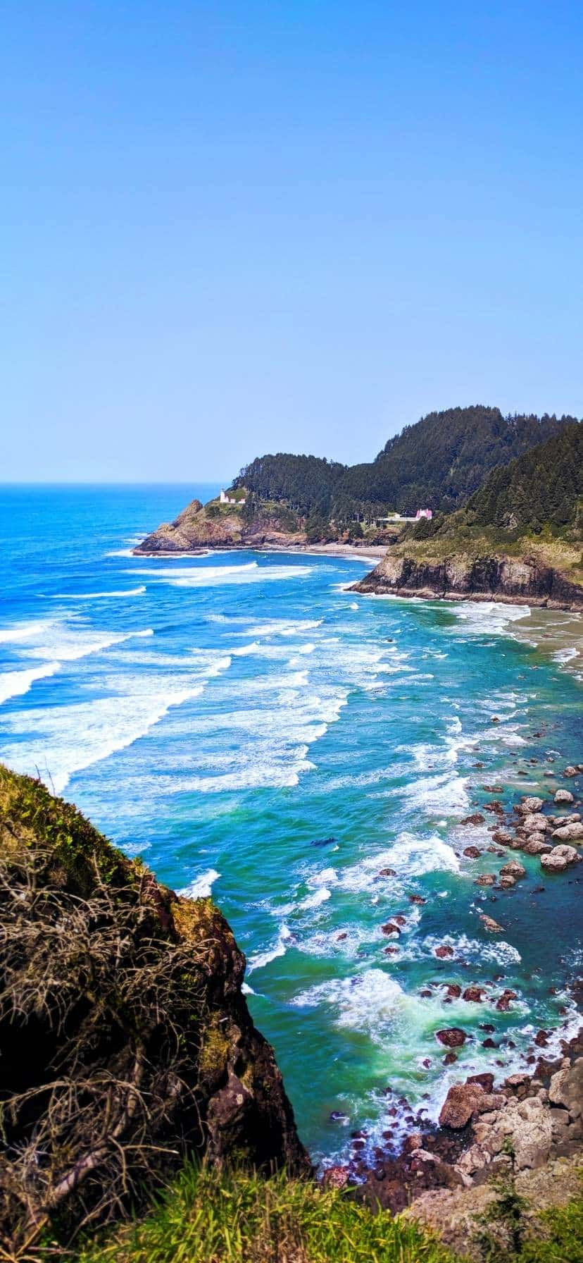 Haceta Head Lighthouse Oregon Coast Road Trip