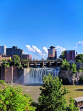 High Falls downtown Rochester New York 1