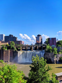 High Falls downtown Rochester New York 1