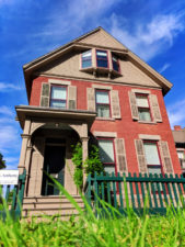 Historic Susan B Anthony House exterior Rochester New York 1