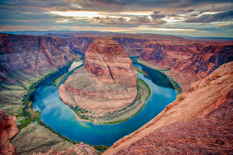 Horseshoe Bend Glen Canyon National Recreation Area Page Arizona from NPS Brent&Dawn Davis