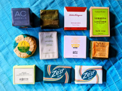 Hotel Soap products wrapped in paper 1