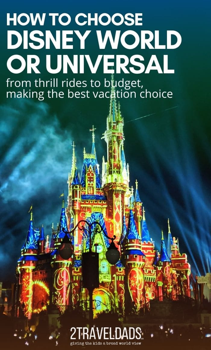 Not sure if you should choose Disney World or Universal Orlando? Thrill rides, family friendly options, dining, and overall costs broken down to help decide between Disney and Universal.
