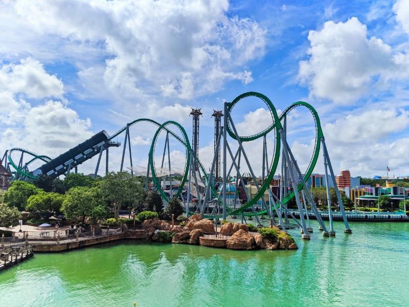 Hulk Roller Coaster in Islands of Adventure Universal Orlando 2020 1