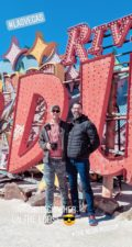 Visiting the Neon Museum Las Vegas IG Story