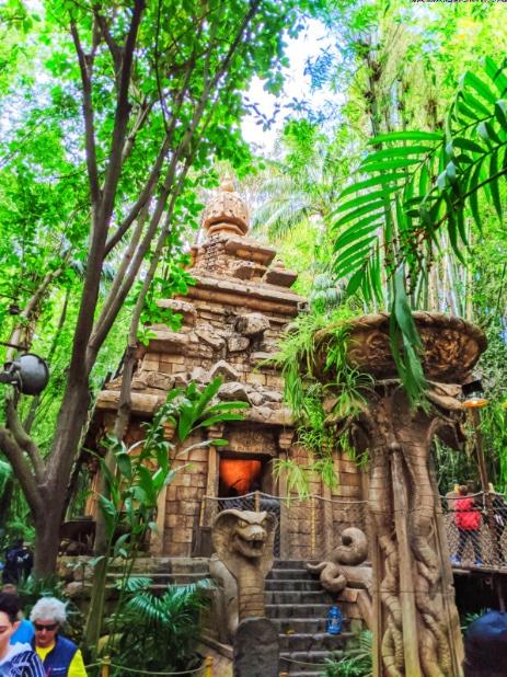 Indiana Jones Temple of the Forbidden Eye Disneyland 2020 1