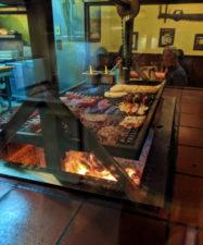 Indoor bbq at Hitching Post restaurant Casmalia Santa Maria Valley California 3