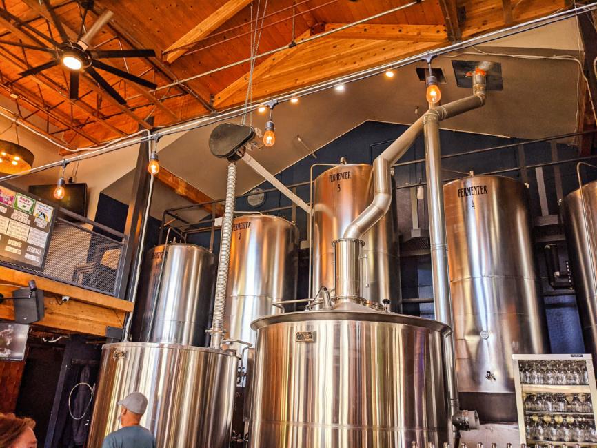 Interior Brewers at Breckenridge Brewery Colorado 1