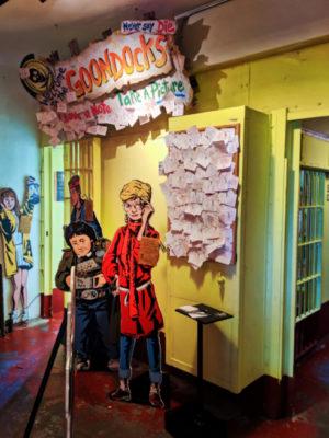 Interior of Clatsop County Jail Goonies Oregon Film Museum Astoria Oregon 2