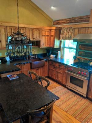 Interior of Cowboy Heaven Family Cabin at Big Sky Resort Big Sky Montana 2