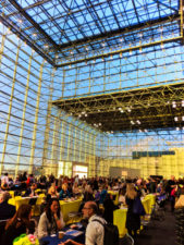 Interior of Javits Center New York City convention center 1