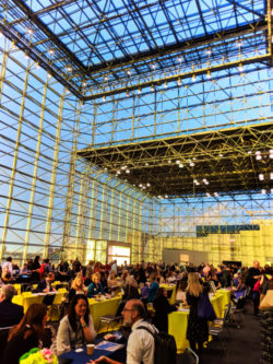 Interior of Javits Center New York City convention center 1