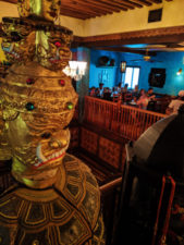 Interior of Yak and Yeti Restaurant in Disneys Animal Kingdom Disney World Orlando Florida 1