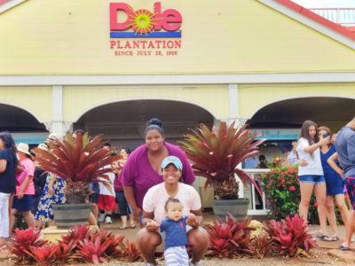 ItzAFamilyThing at Dole Plantation Oahu Hawaii 1