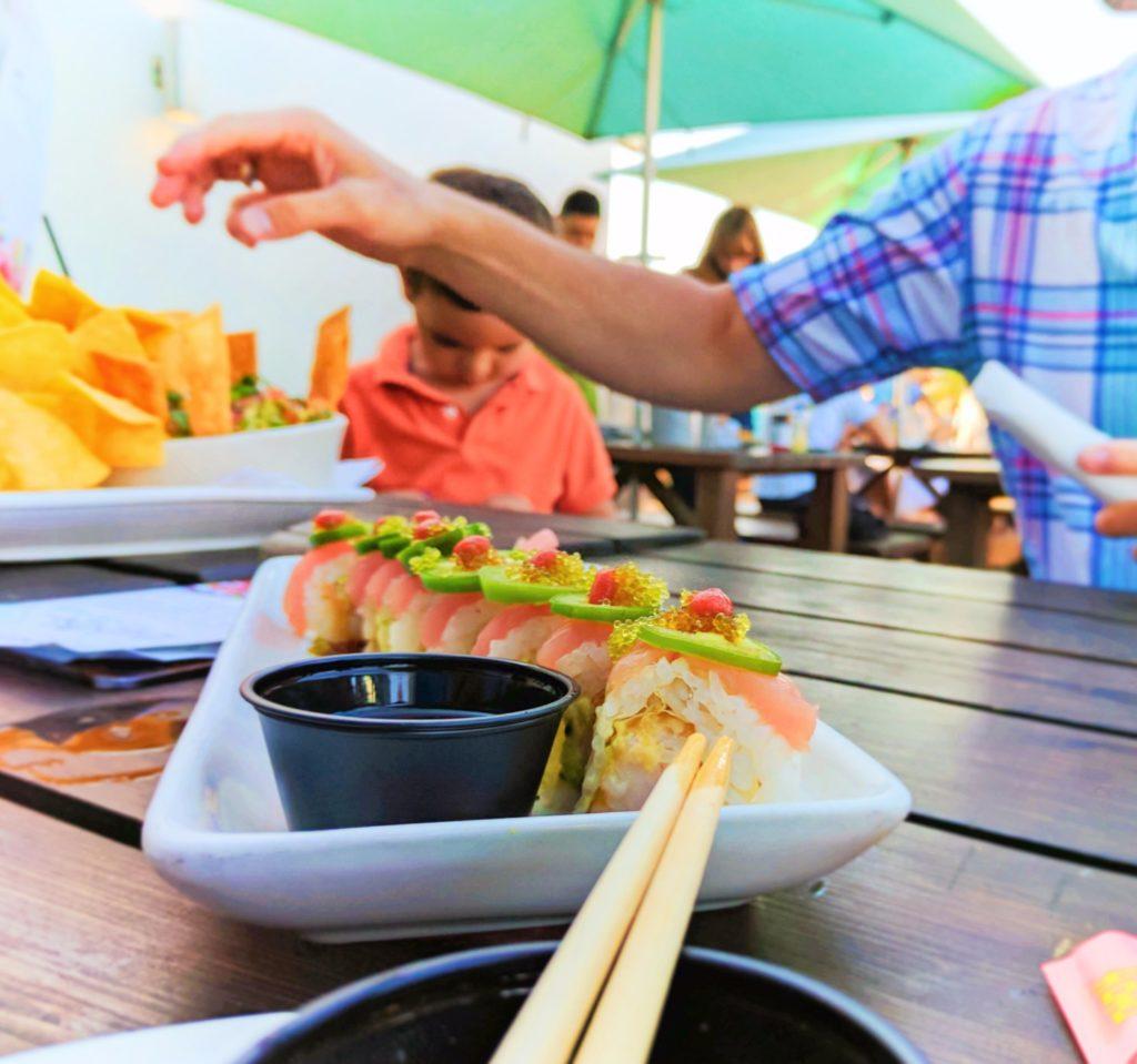 Jalepeno Sushi at Salt Life Seafood St Augustine 1