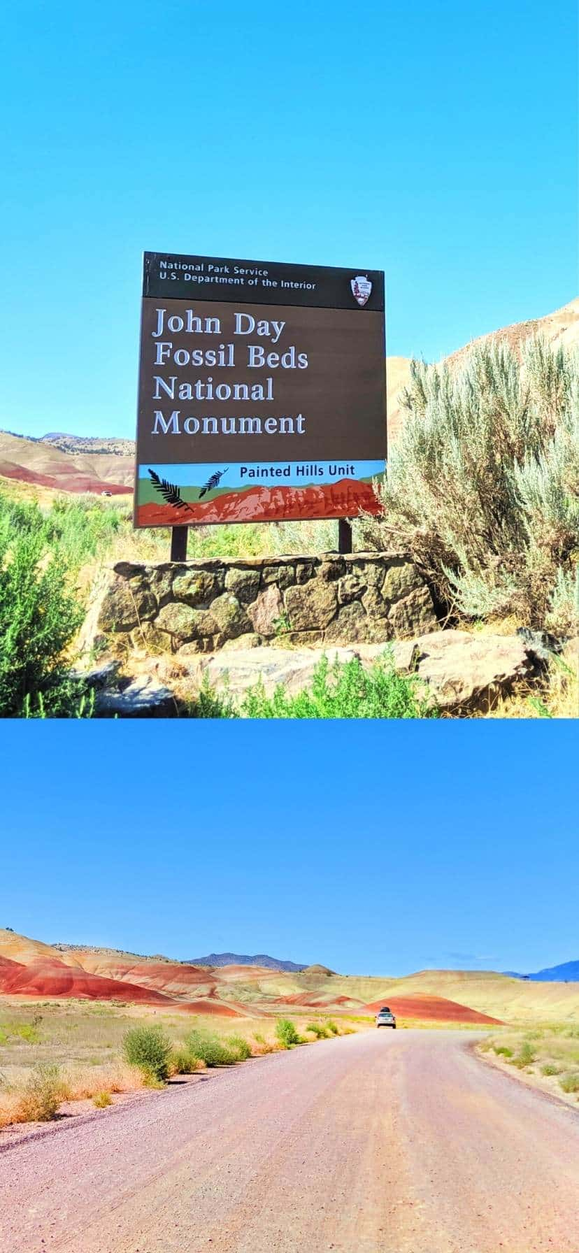 John Day Fossil Beds NP at Oregon's Painted Hills