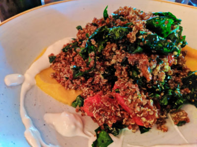 Kale and Quinoa at Horn and Cantle at Lone Mountain Ranch Big Sky Montana 1