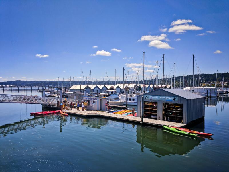 Kayak Rentals in Marina Poulsbo Washington 1
