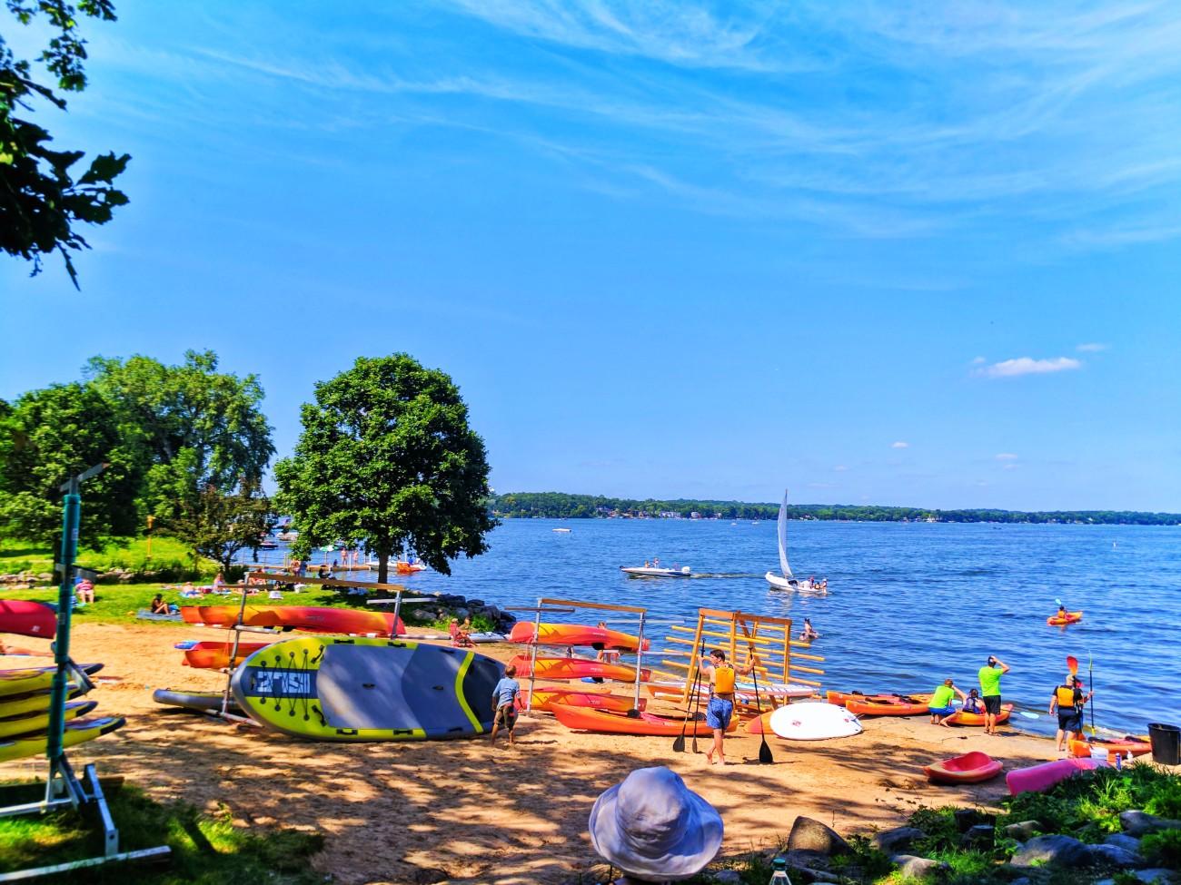 Kayak and SUP rentals on Lake Mendota Madison Wisconsin 1