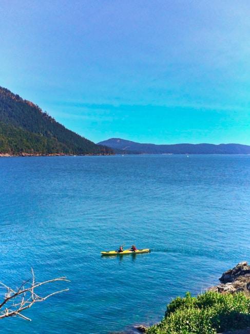 Kayaking at Shaw Island San Juan Islands Washington 1