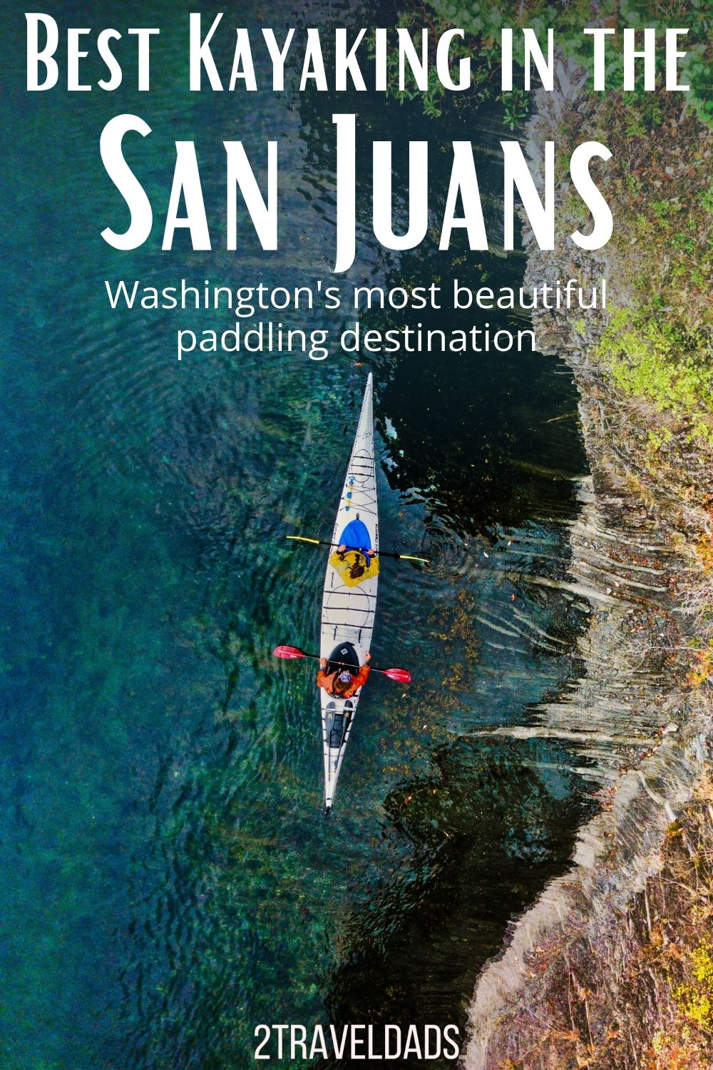 Best kayaking in the San Juan Islands of Washington. Kayak tours and best places to launch in the San Juans, including kayaking with orcas and bioluminescence near Seattle.